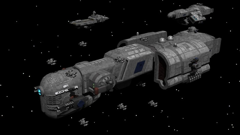 "Fr'i Imperial Class Light Cruiser - 01 Echidna ""Imperial 1"""